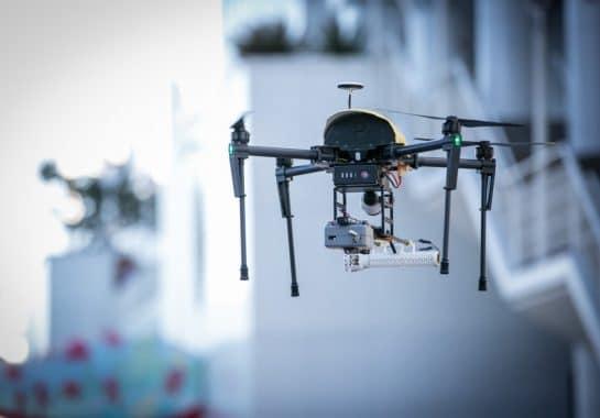 UAVs save the environment